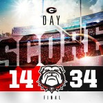 UGA Football: Black Defeats Red In Front Of Record Crowd