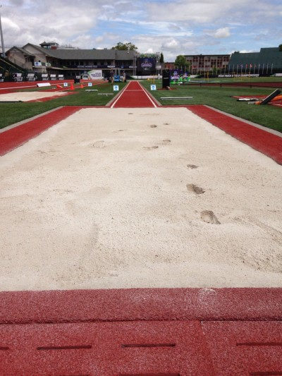 uga track and field  porter wins ncaa long jump title