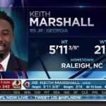UGA Football: Redskins Get to Know Keith Marshall