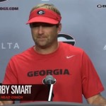UGA Football: Catching Up With Coach Smart After Practice