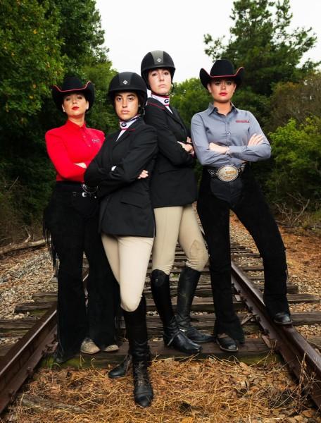 Uga Women S Equestrian Georgia Opens Spring Schedule At