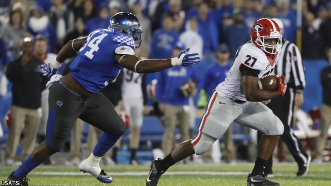 UGA Football: Dawgs at Kentucky Post Game Notes – Field ...