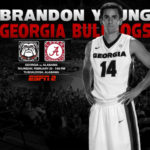 UGA Men's Basketball: Bulldogs Visit Tide in Alabama