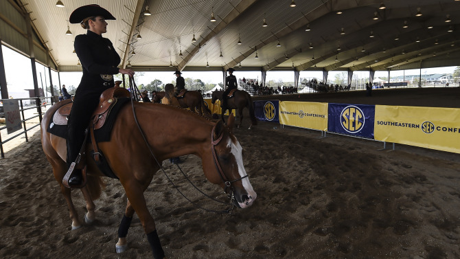 Uga Women S Equestrian Georgia Selected As No 2 Seed For