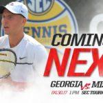 UGA Men's Tennis: Bulldogs Bound For SEC Finals