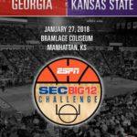 UGA Men's Basketball: Dogs To Face Kansas State In Big 12/SEC Challenge