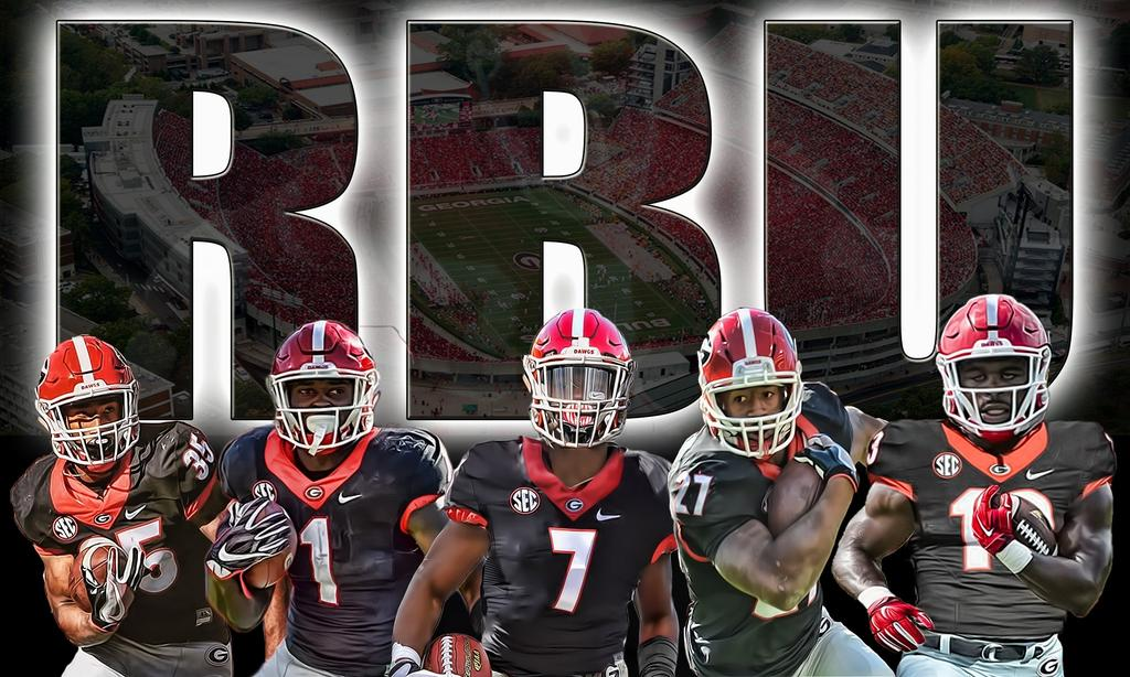 2017 2018 College Bowl Schedule >> UGA Football: One Dawg RB Left Off of SEC Top 5 By ESPN Writer – Field Street Forum