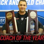 UGA Track and Field: Kyprianou Named National Coach Of The Year