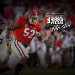UGA Football: john Frierson Chats With Tyler Clark