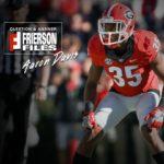 UGA Football: John Frierson Chats With Aaron Davis