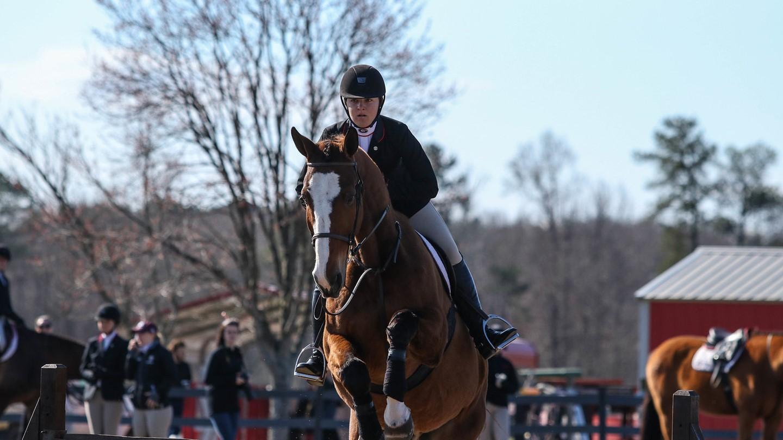 Uga Women S Equestrian 1 Georgia Finishes Fall
