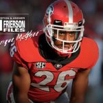UGA Football: John Frierson Chats With Tyrique McGhee