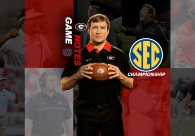 Uga Football Game Notes Georgia Rematch With Auburn In