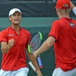 UGA Men's Tennis: Dawgs Take Down Yellow Yackets, 4-0, on National Television