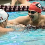 UGA Swimming and Diving: Acevedo Claims SEC Title in 100 Backstroke