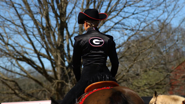Uga Women S Equestrian Georgia Falls To Auburn In Ncea