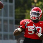 UGA Football: Dawgs Hold Mostly Indoor Workout
