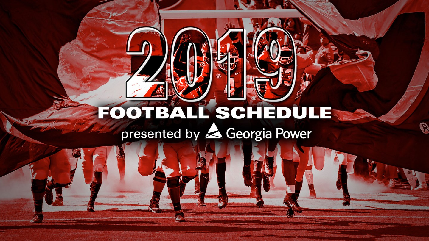 2017 2018 College Bowl Schedule >> UGA Football: Notre Dame and Texas A&M Highlight 2019 Schedule – Field Street Forum