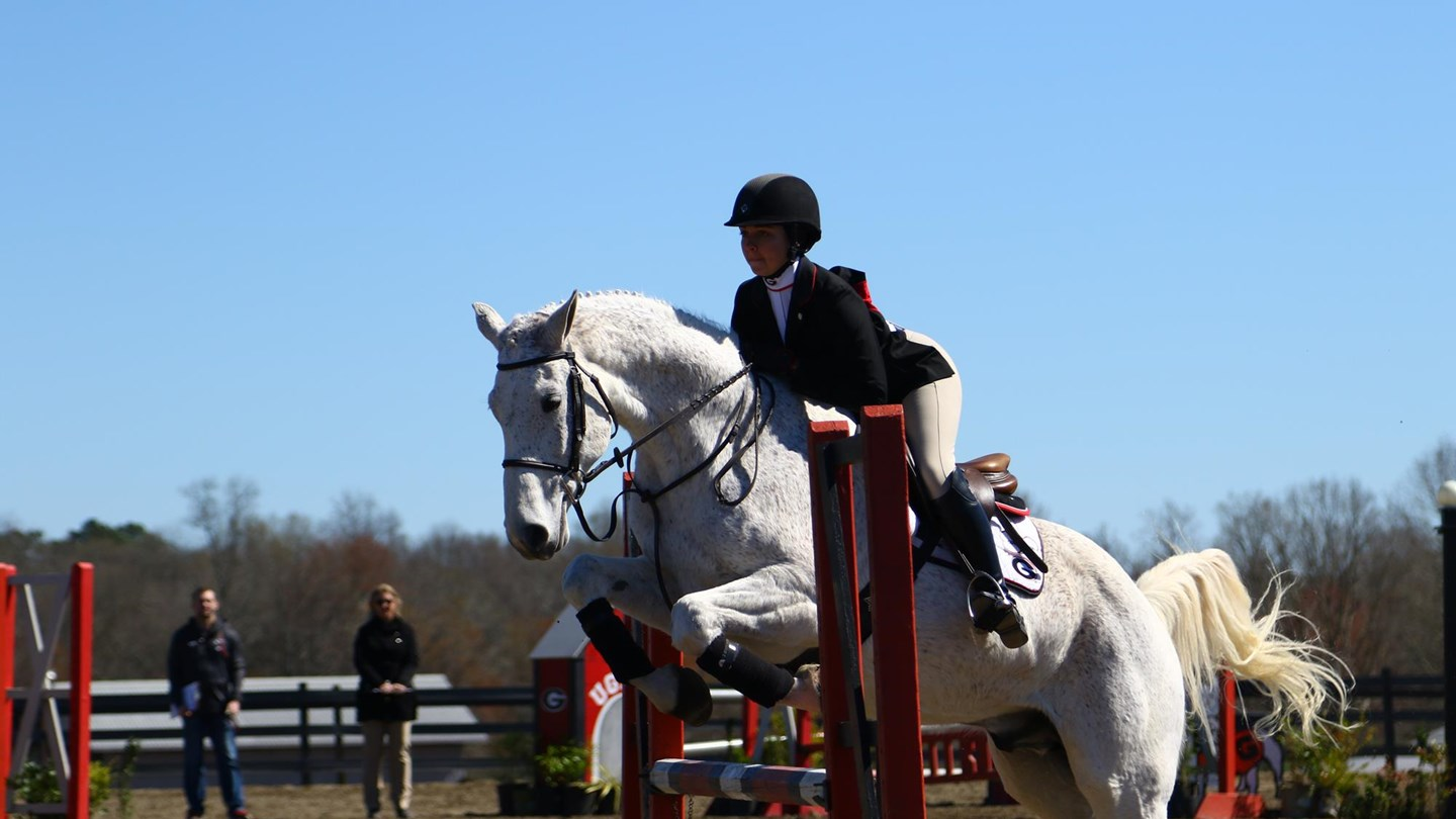 Uga Women S Equestrian Bulldogs Host Cowgirls In Home