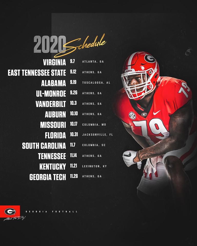 Alabama Football 2020 Schedule.Ccc 11 18 19 Field Street Forum
