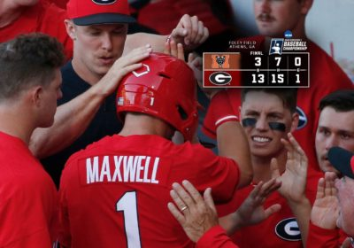 UGA Baseball: Georgia Blasts Mercer 13-3 – Field Street Forum