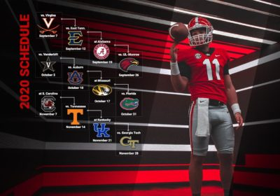 Uga Football Schedule 2020 UGA Football: Chick fil A Kickoff, Alabama Highlight 2020 Schedule
