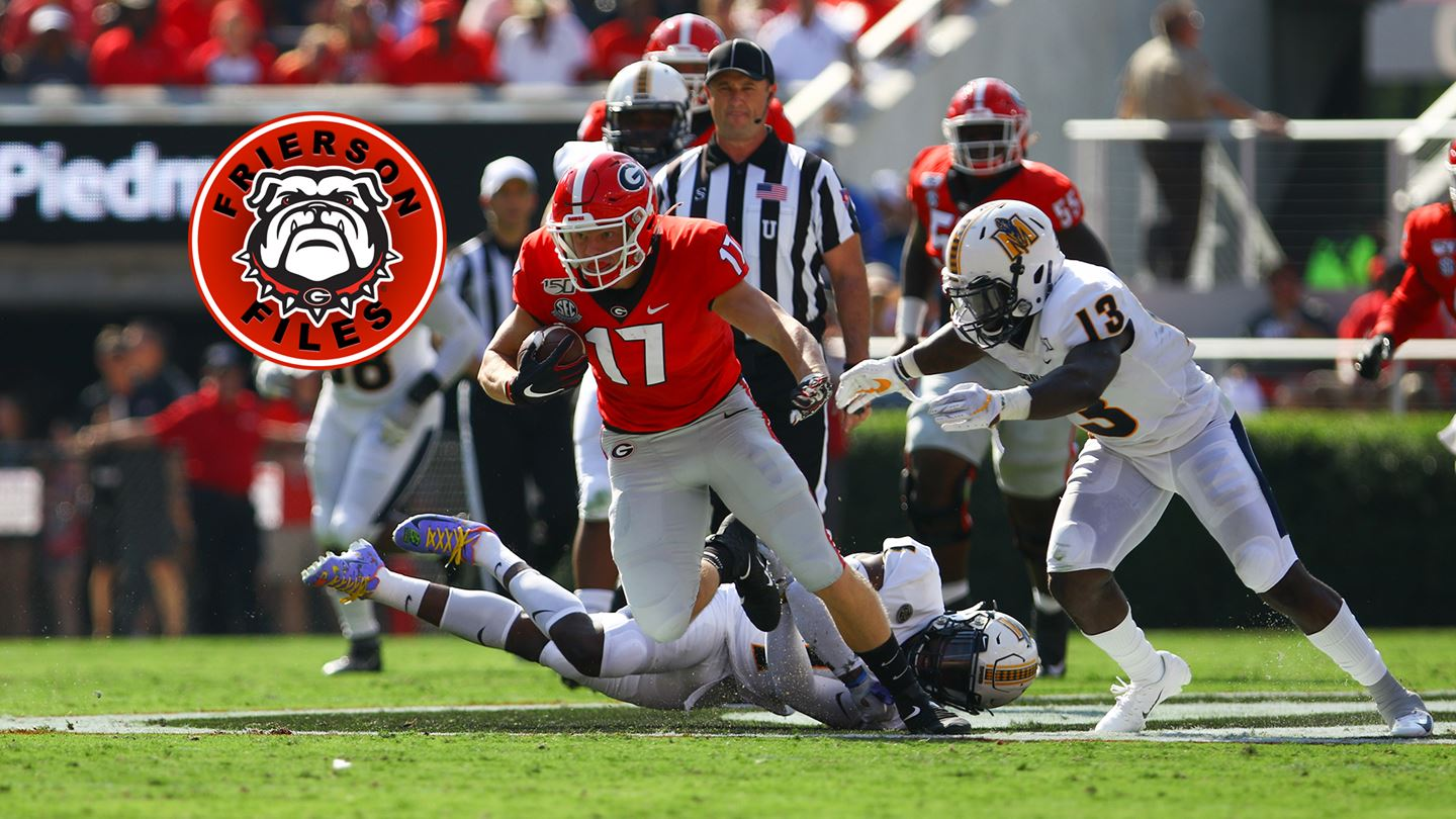UGA Football: A Big Win, A Chance To Grow – Field Street Forum